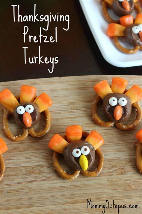 show thanksgiving thanksgiving pretzel turkeys octopus
