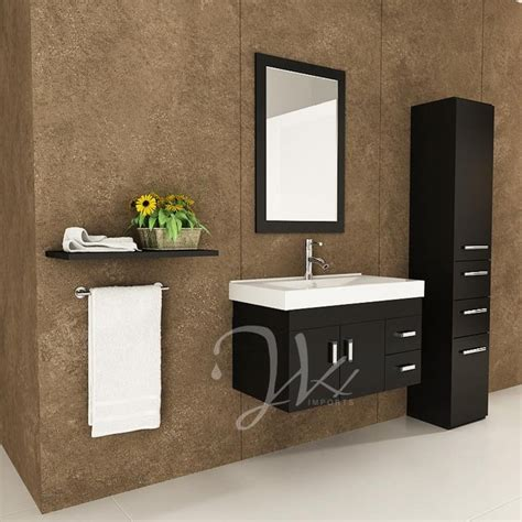 modern bathroom vanity san jose 35 5 quot lyra single bathroom vanity modern san diego
