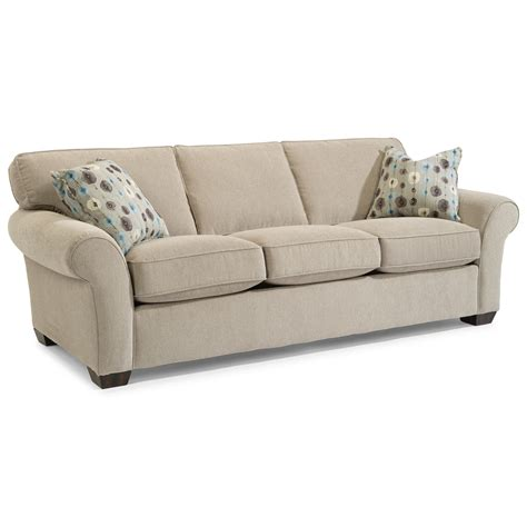 flexsteel vail sofa price flexsteel vail 91 quot vail three cushion sofa olinde s