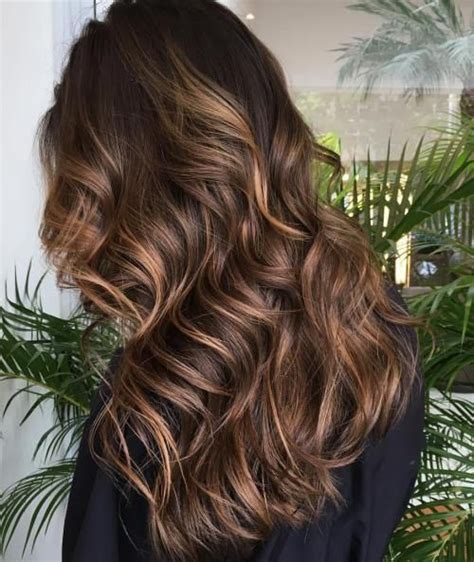 35 scrumptious vibrant hues for chocolate brown hair 1000 ideas about chocolate brown highlights on pinterest
