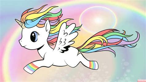 imagenes de unicornios tiernos rainbow unicorn