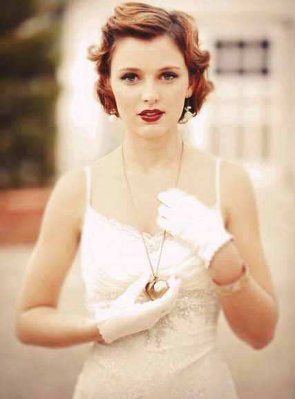 Vintage Wedding Hair With Bangs 20 mesmerizing wedding hairstyles for hair