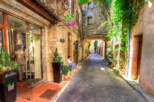French Speaking Countries Asia - large pictures of antibes old town painterly style vieille ville c 244 te d azur france with
