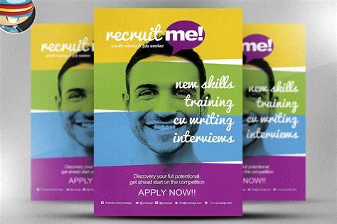 creative flyers templates creative recruitment flyer template flyer templates on
