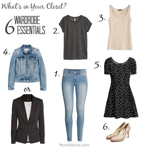 s wardrobe essentials m challenge what s in your closet 6 wardrobe essentials