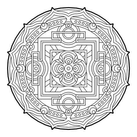 free printable coloring pages for adults geometric many geometric pattern coloring pages for adults