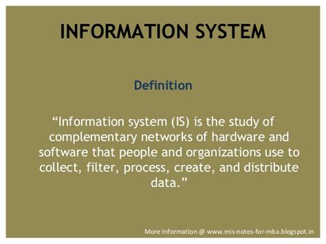 Mis Textbook Mba by Management Information System Computer Information System