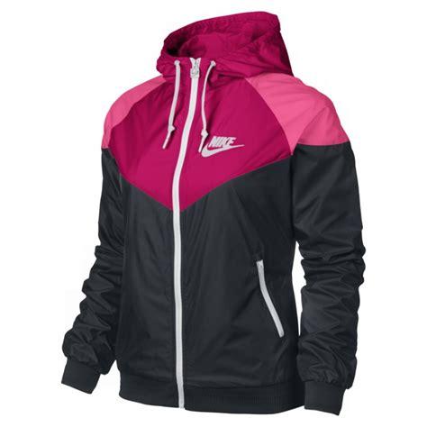 Nike Windrunner Pink Black Buy Nike Windrunner Womens Running Jacket Black