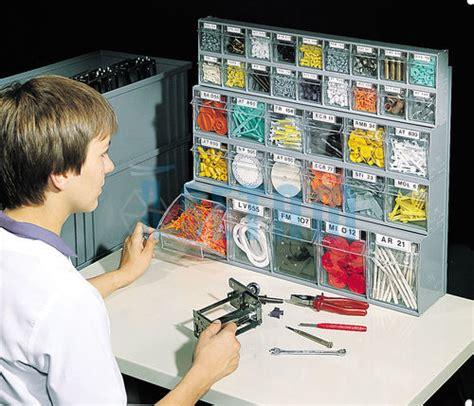 kit bloc tiroir plastique praticbox 35 tiroirs avec cadre