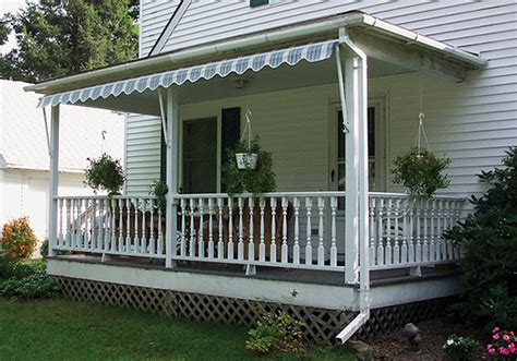 awnings for porches window porch awnings ocean view awnings shades