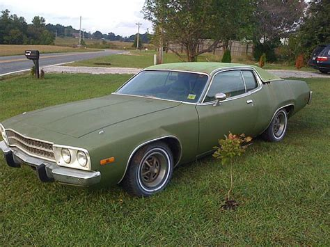 plymouth satellite 1973 1973 plymouth satellite for sale mooresville carolina