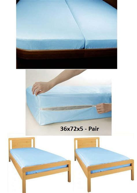 3 size options 100 water proof mattress cover in india