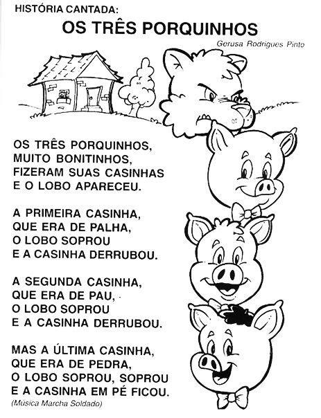 Plano de aula para maternal - Os 03 porquinhos (com