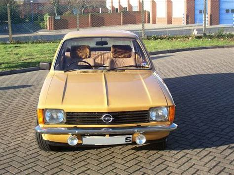 opel kadett 1978 opel kadett c 1 2s auto sold 1978 on car and classic uk
