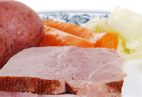 Cottage Ham - sunday comfort cottage ham with cabbage potatoes and