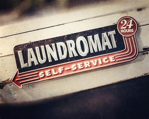 vintage laundry room signs laundry room decor vintage laundromat sign photograph