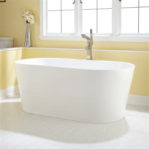 bathtub bath eden acrylic freestanding tub bathroom
