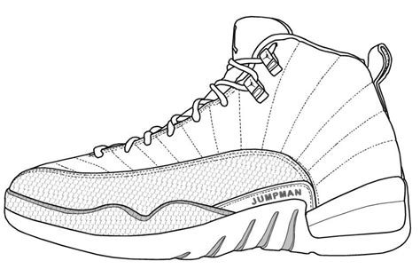 Jordan Shoe Coloring Pages Coloring Home Jordans Coloring Pages