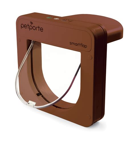 pet porte microchip cat flap petsafe petporte microchip cat flap brown