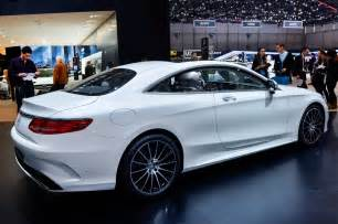 2014 geneva motor show mercedes s class coupe rear