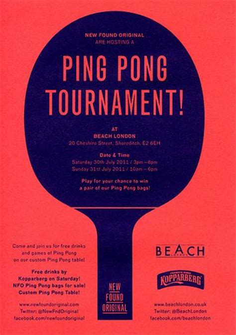 Sport For Gt Table Tennis Tournament Poster Design Inspiration Pinterest Tennis Tournaments Ping Pong Tournament Flyer Template