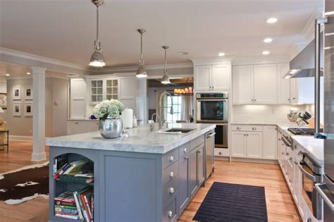 Kitchen Island Decor Ideas by Classic Coastal Colonial Renovation The Ultimate Island