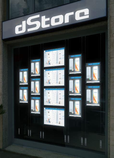 illuminazione schermo pc schermi o pubblicitario i a led per negozi e vetrine