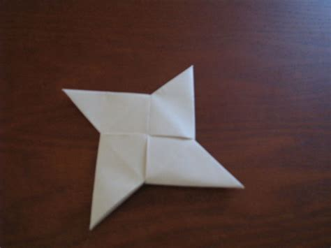 How To Make Shuriken Out Of Paper - origami 171 embroidery origami