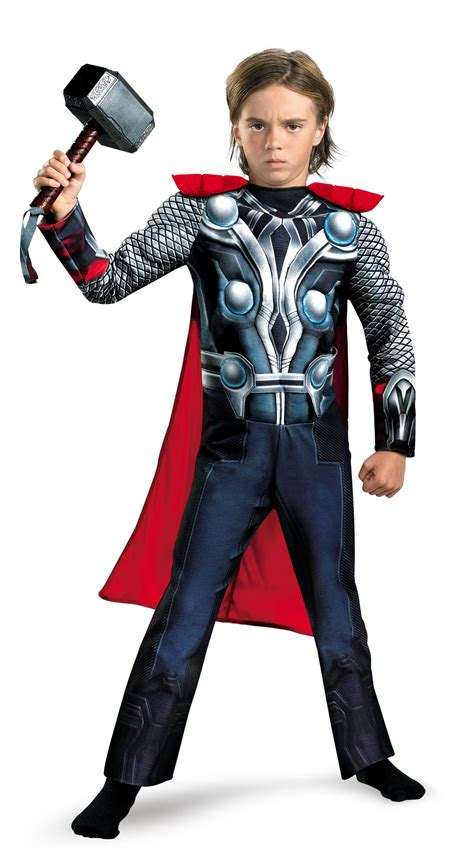 8 Costumes For by Boys Thor Chest Costume Mr Costumes