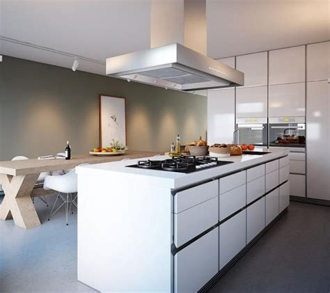 Contemporary Kitchen Islands Minimalist Home Captivates With Sleek Design And Ergonomic Form