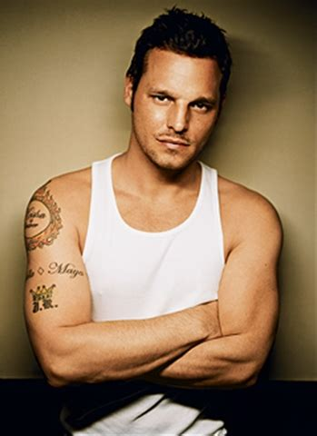 alex karev greys anatomy i d rather have you cursed or not justin chambers