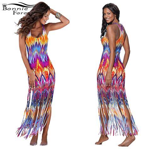 Bright Fringe Maxi Dress - popular bright purple dresses buy cheap bright purple