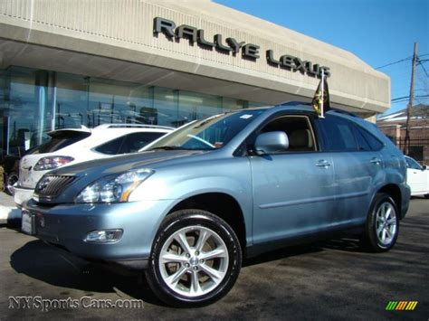 lexus rx 350 blue 2009 lexus rx 350 awd in breakwater blue metallic 101324