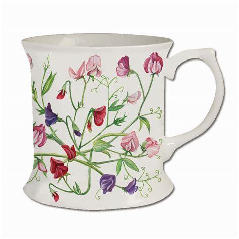 Sweety M34 4 m34 sweet peas bone china tankard mug melamaster