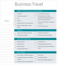 Sle Business Travel Itinerary Template business travel itinerary template 7 free