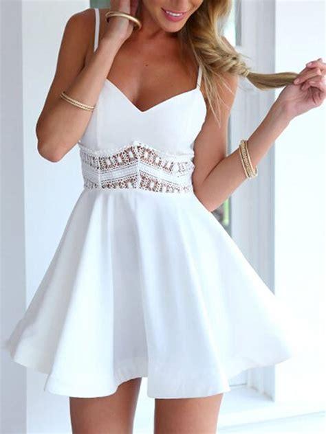 30178 Dress 7 Of 7 White Dress Import Wanita Gaya Korea Manis dress choies white dress dress spaghetti