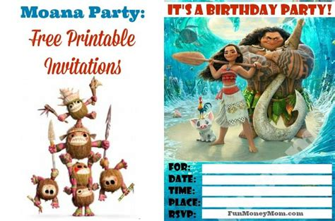 Christmas Home Decor Ideas Pinterest by Moana Invitations Free Printables For A Princess