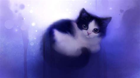 Colour Purple by Cat Wallpapers Hd Kitten Wallpaper Free Cat Wallpapers