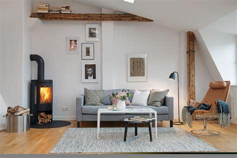 Unbelievable Modern Scandinavian Apartment Create Amazing ... Wooden Simple Sofa Chair