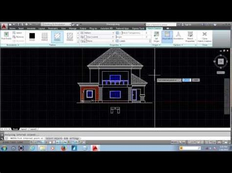 autocad house plan tutorial autocad 2016 tutorial funnydog tv