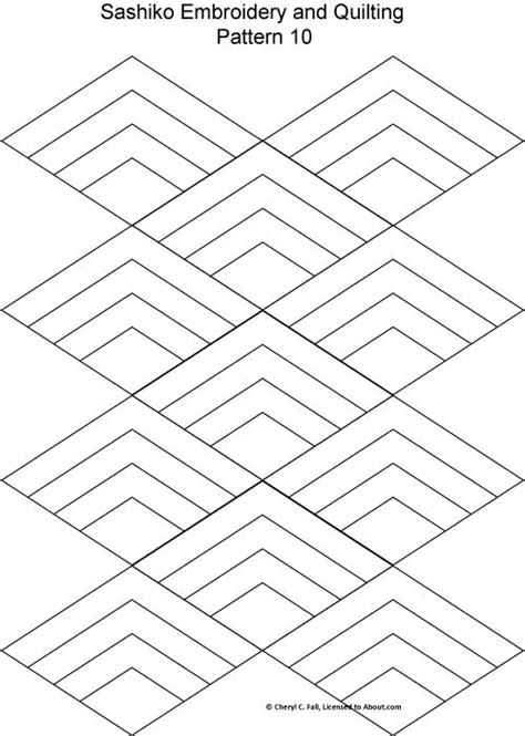 pattern rule for 2 4 10 28 free sashiko embroidery patterns