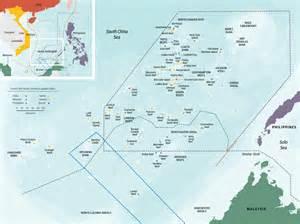 South China Sea Dispute Map by Geogarage China Warns Us Warship After It Sails Near