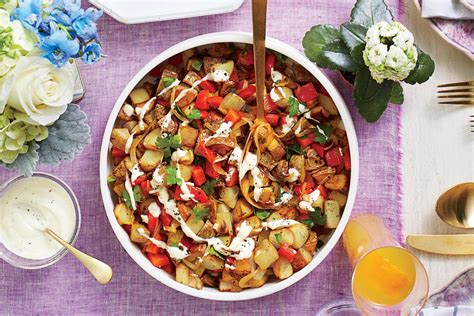 easter side dishes potato hash easter side dishes southern living