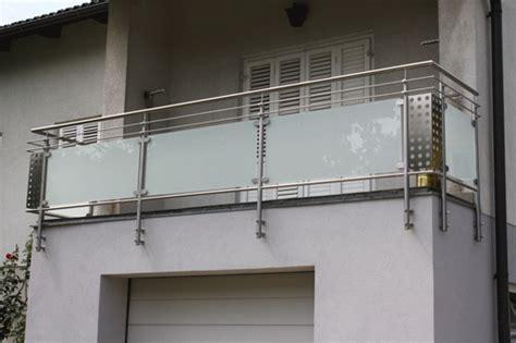 aussengeländer mit glas edelstahl balkon mit glas preis balkongel nder aus