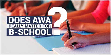 Does It Matter What You Apply For Mba by Does Gmat Awa Really Matter For B School Admission Byju