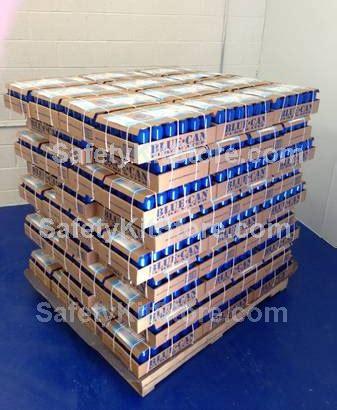 Shelf Water by 50 Year Canned Emergency Water
