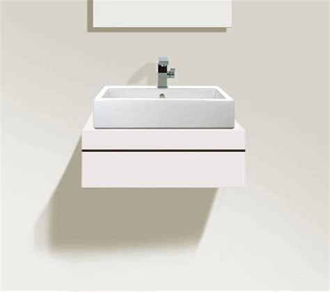 duravit console duravit fogo 600 x 550mm central cut out console with 1