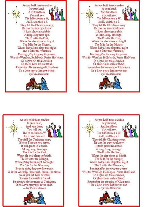 printable version of the nativity story 7 best images of the christmas story printable free