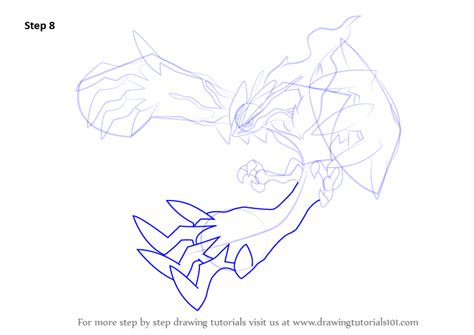 how to draw yveltal pokemon x and y step by step learn how to draw yveltal from pokemon pokemon step by