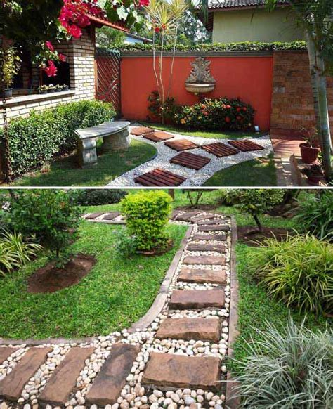 Backyard Stepping Stones by Lay A Stepping Stones And Path Combo To Update Your